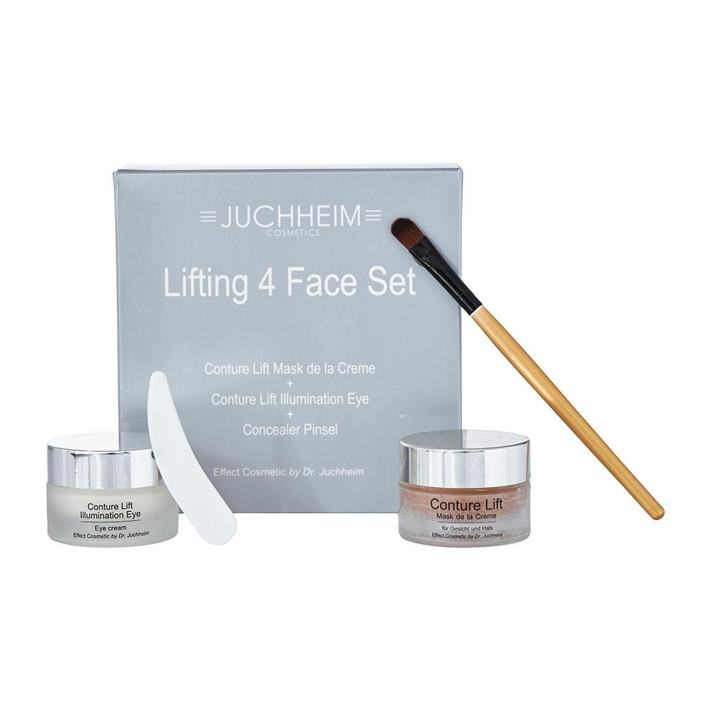 Lifting 4 Face Set Conture Lift Mask De La Creme Pot Cream Kosmetik 15ml Illumination Eye Dr Juchheim Cosmetics Effect Food